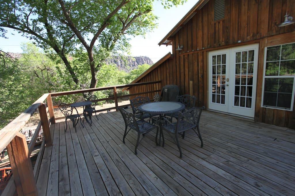 The Loft's Balcony View
