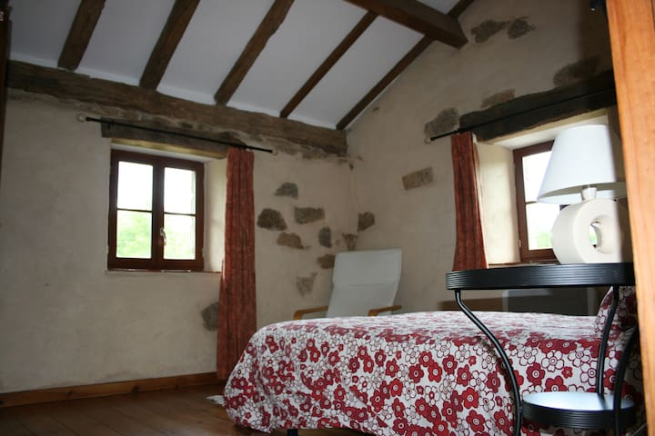 Double bedroom - Busserolles - Bed & Breakfast