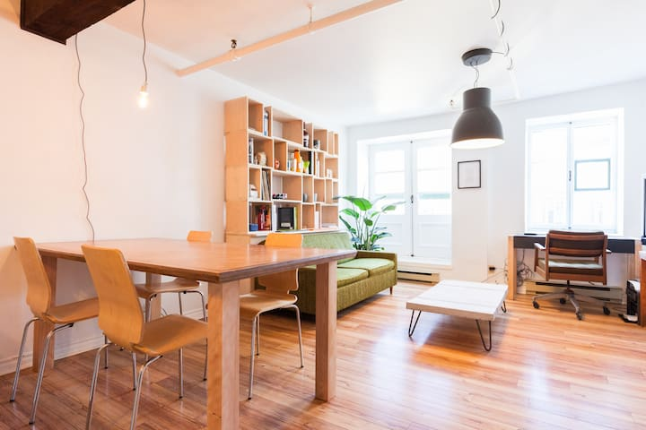 Apartment in old city with parking - Québec - Appartement