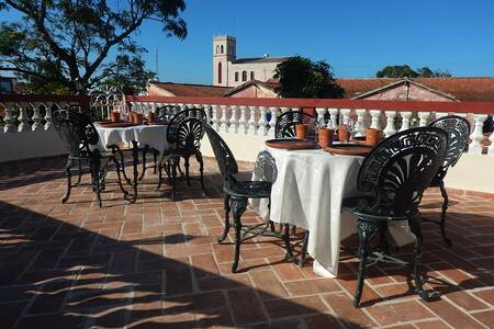 Casa Doña Tata - Room with big terrace
