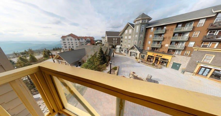 Village/mtn view. Hot tubs. Walk to slopes/dine