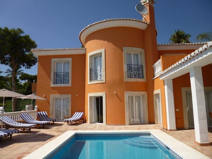 Panoramic sea view 5 bedroom Villa & private pool