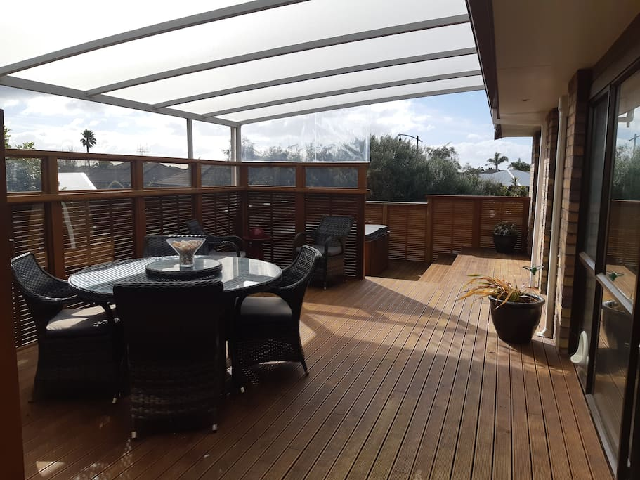 Deck includes Spa Pool