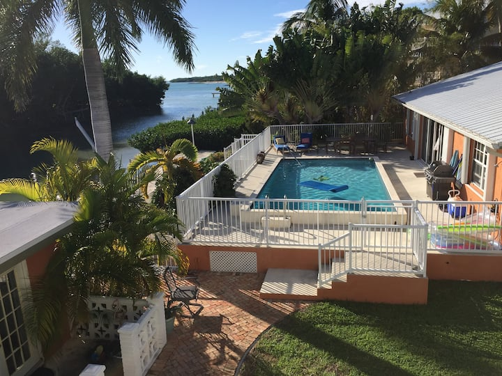 Openings! Waterfront w/ Pool & Privacy by Beach