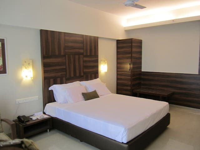 Deluxe room in the heart on Panjim City