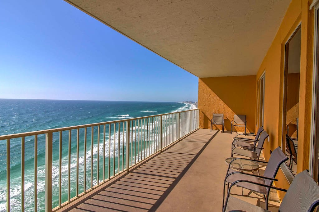 You'll love the oceanfront views from the private balcony.