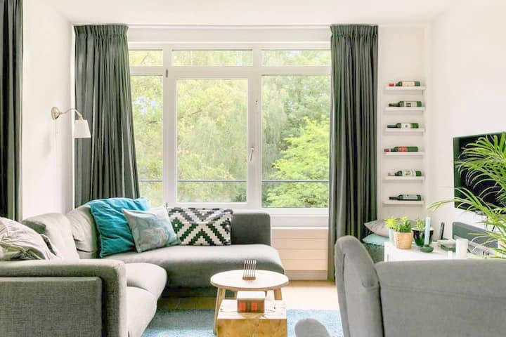Super home for two with great view north Amsterdam