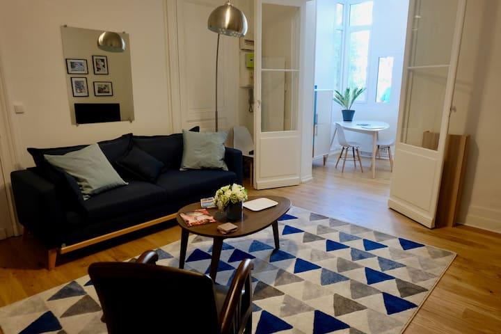 Appartement sur cour/jardin au Bouscat