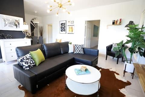 Beauty By Miami Beach Estacionamento gratuito Caminhada para o Oceano 3min | 2 Quartos 1 Casa de Banho Apartamento Privado