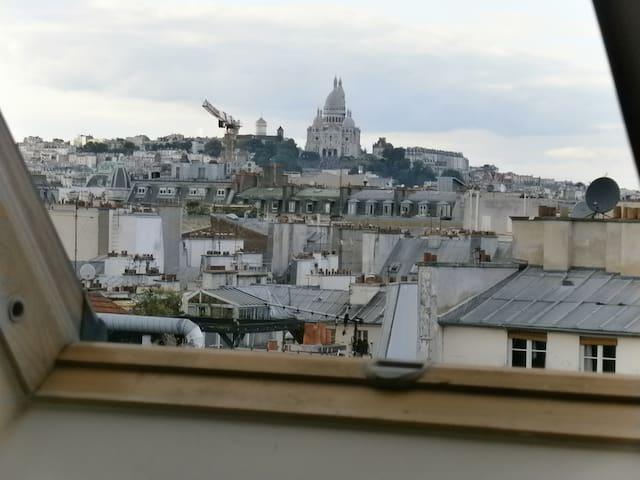 CENTER OF HISTORIC PARIS, COSY LOVE NEST - París - Departamento