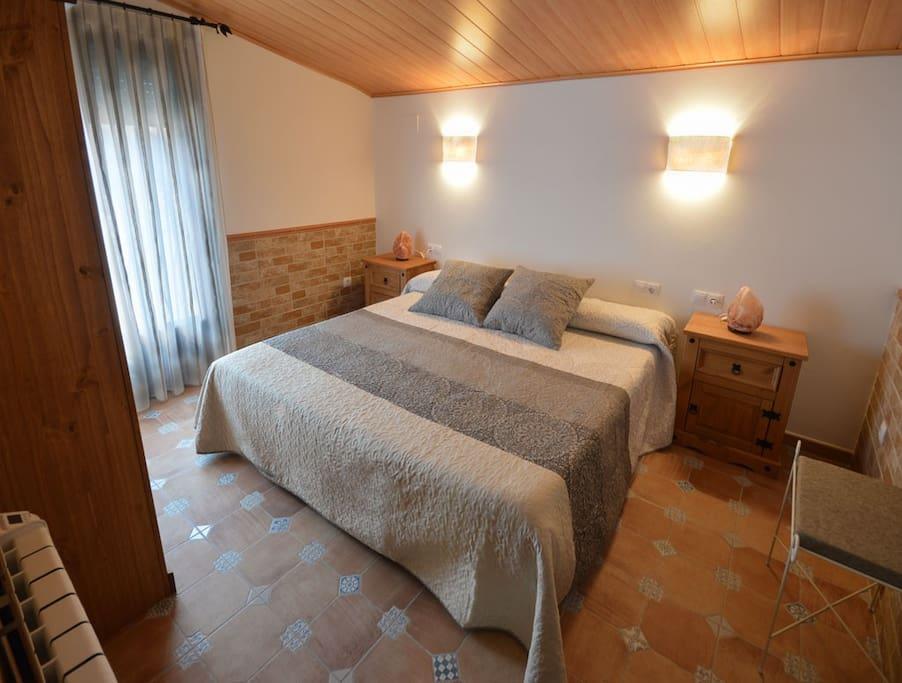 Habitación principal con posibilidad de añadir una cama individual