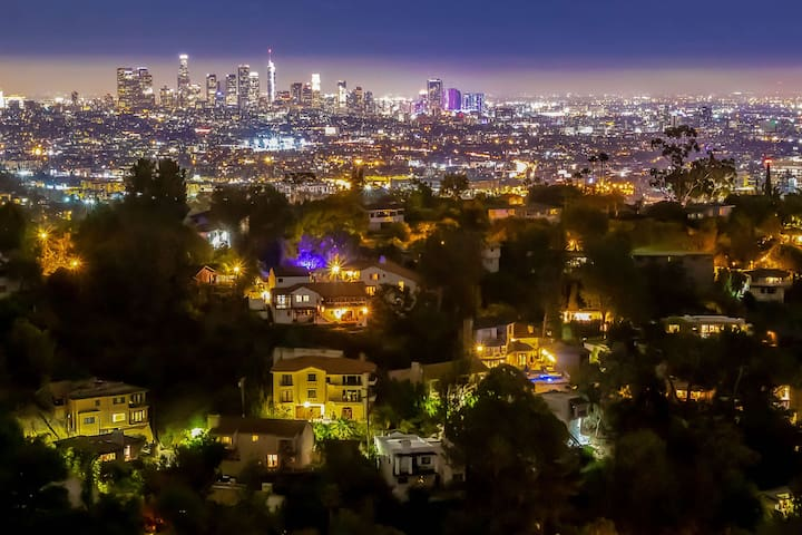 Hollywood Hills views bungalow