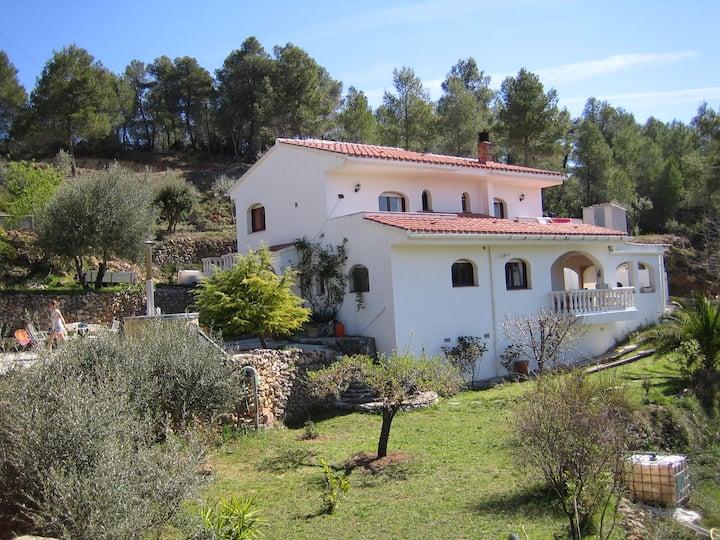 gehele woning entire property in Tarragona/Tivissa