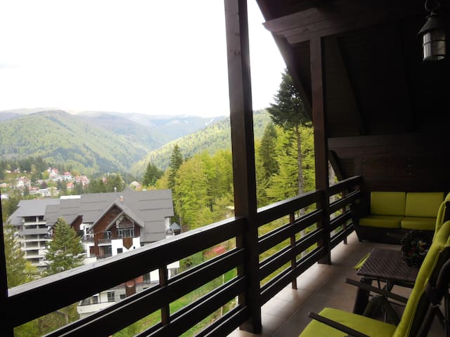 Relaxing Balcony Apartment - Sinaia - Apartament