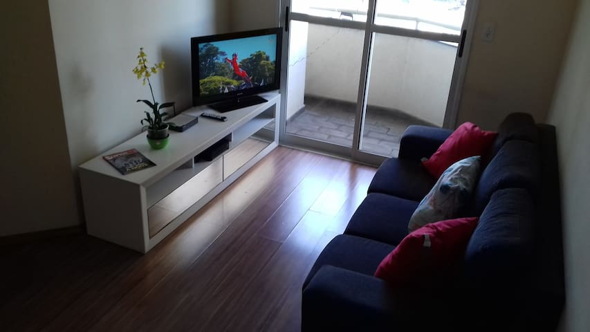 Perfect 3 rooms and parking lot in Santo André - Santo André - Byt