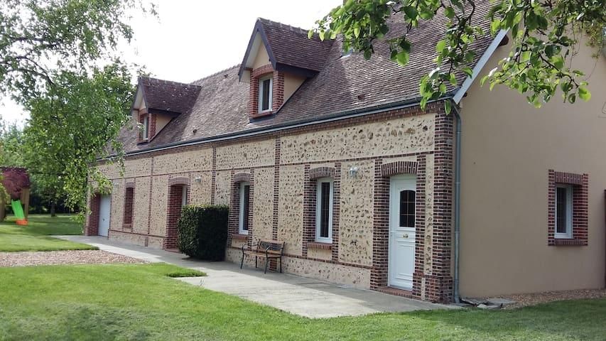 Gîte Percheron du Petit Potron en Eure et Loir - Happonvilliers - Alojamento na natureza