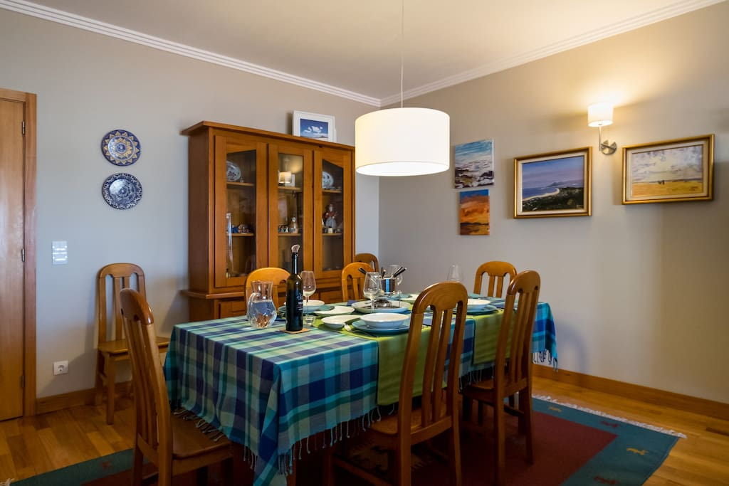 Spacious and cosy dinning room