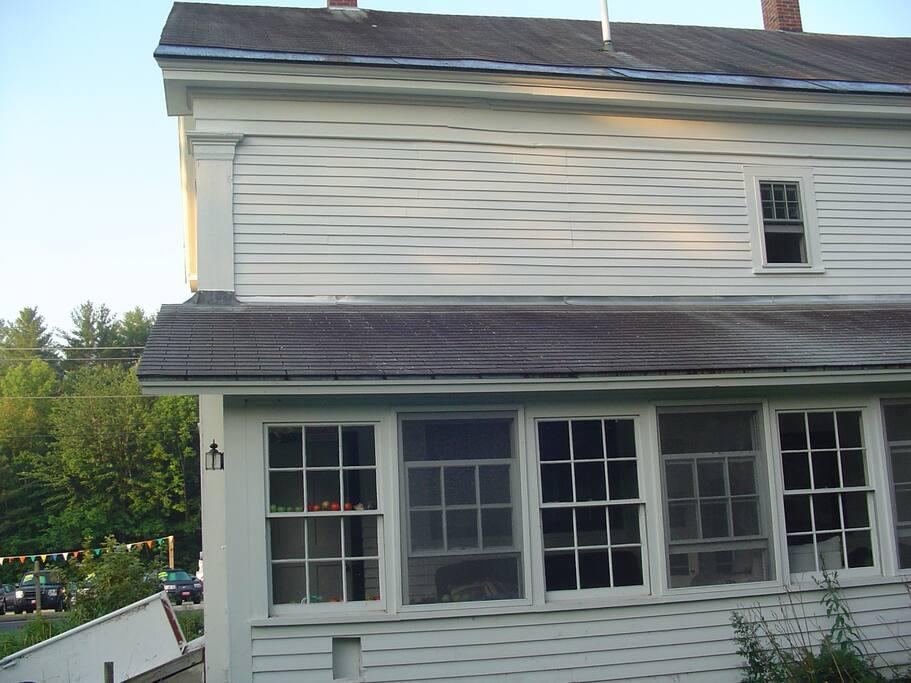 Back porch - main entrance