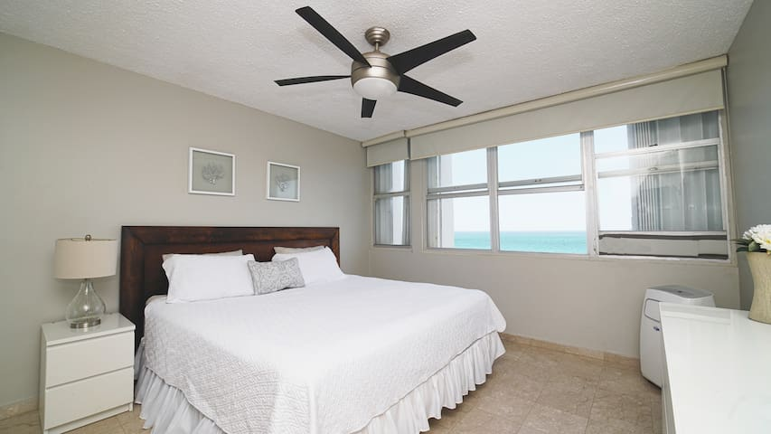 Comfortable room with air conditioning