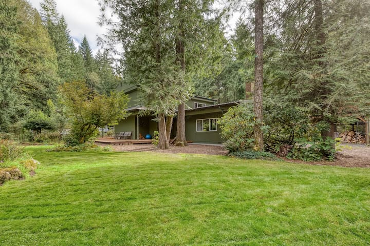 Recently remodeled home w/ large yard & lovely forest setting - dogs OK!