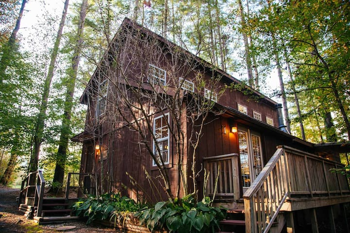 Storybrooke Cabin- Pond, Outdoor Fireplace, Trails