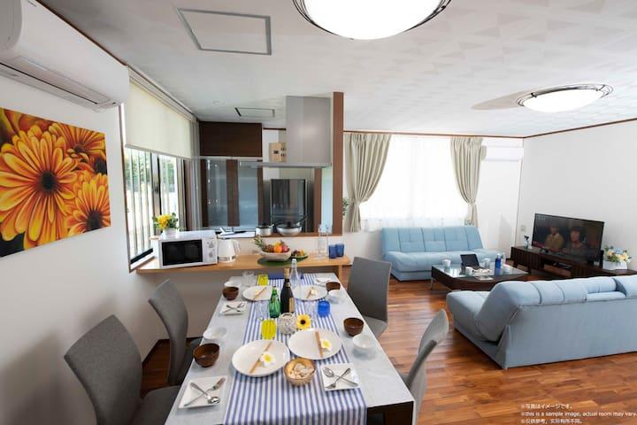 Miyakojima White House Annex♪Private Villa+BBQ&Car