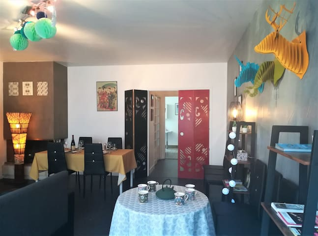 Spacieux appartement avec parking, Rouen centre