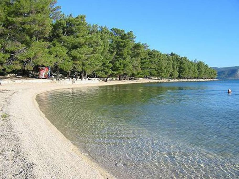 Soline beach