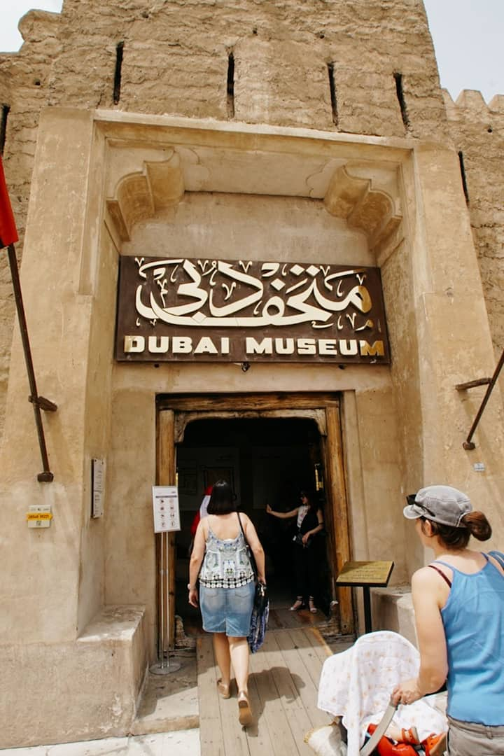 the oldest existing building in Dubai