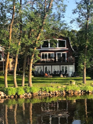 Big Red Lake Home for summer/winter fun