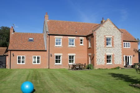 The Farmhouse - Double (king size bed) near Cromer - Bed & Breakfast