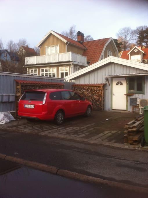 Vy från Toltorpsgatan 31