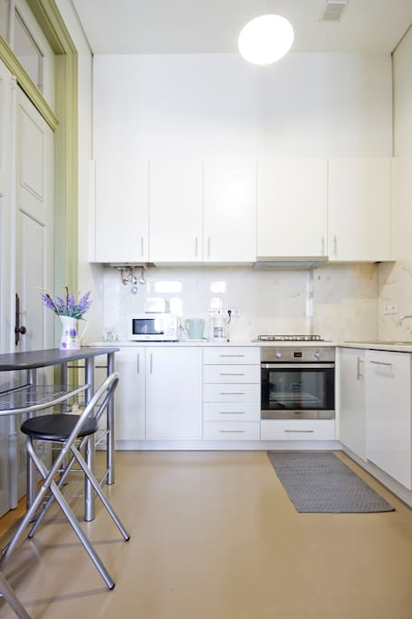 Kitchen with all appliances for 4 persons
