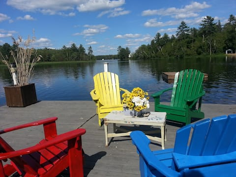 Luxury Lake House Exclusive in Northern Ontario