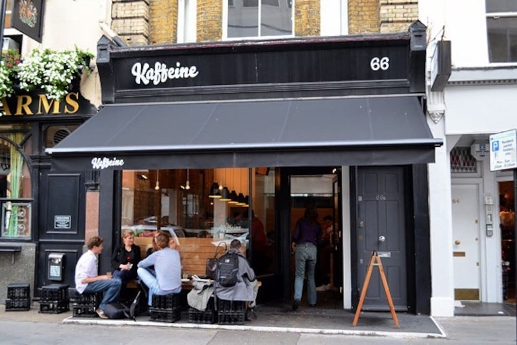 Great Titchfield Street village feel in the very centre of London