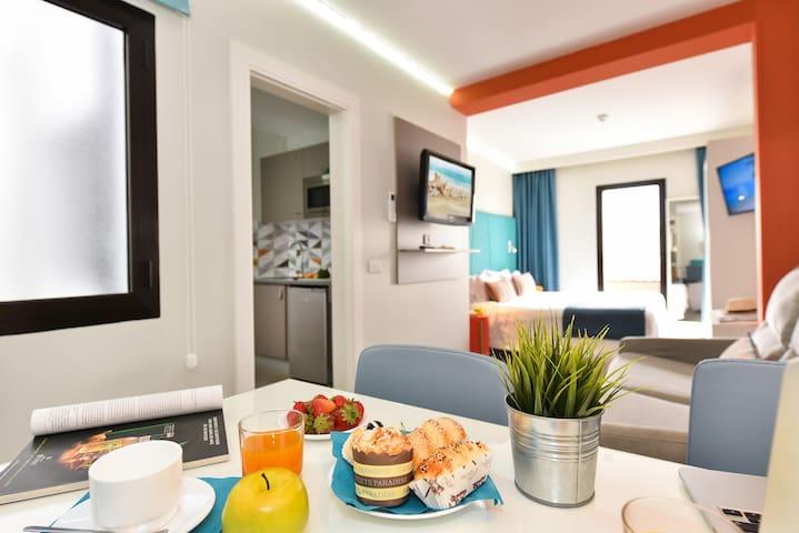 Hotel Apartment near the beach