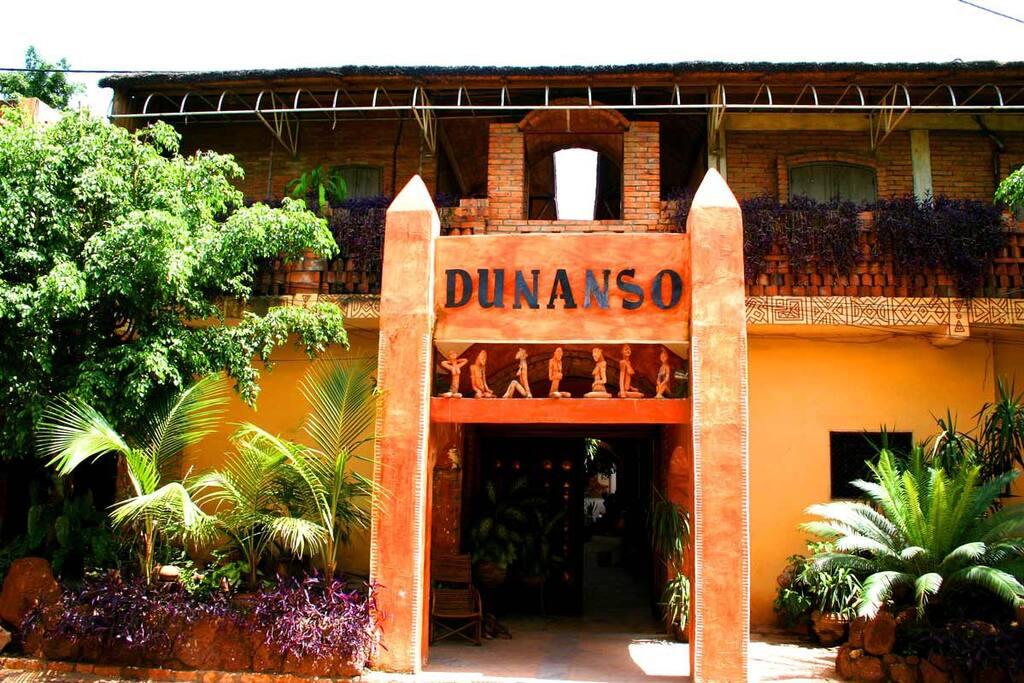 Entrée de Dunanso