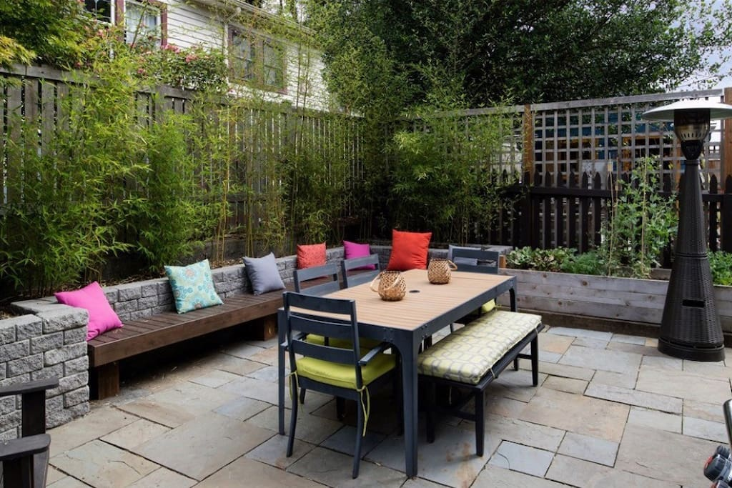 Access to backyard patio, patio heater, and grill available at mutual agreeable times with owners