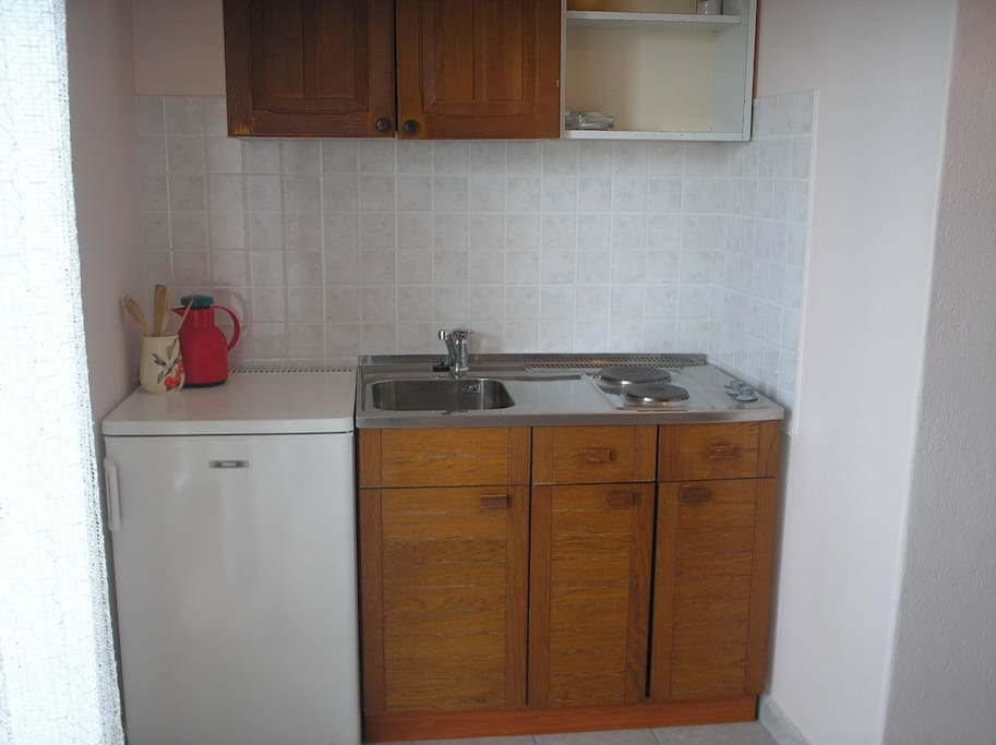 Kochecke im Wohn/Schlafzimmer
