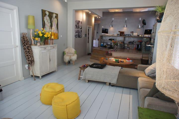 Comfortable, spacious & stylish family house