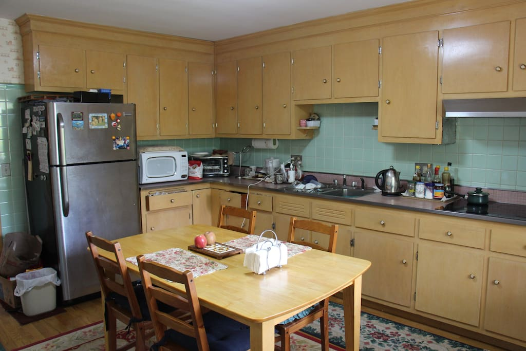 You can share and cook in our large eat-in kitchen.
