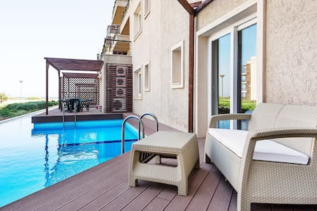 Thalassa beach 3 bed private pool 19-104 - Çayırova