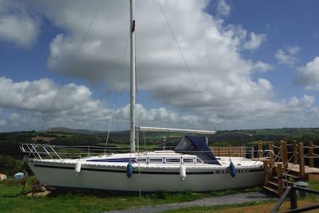 The UK's first glamping land boat in Pembrokeshire - Llanycefn - Boat