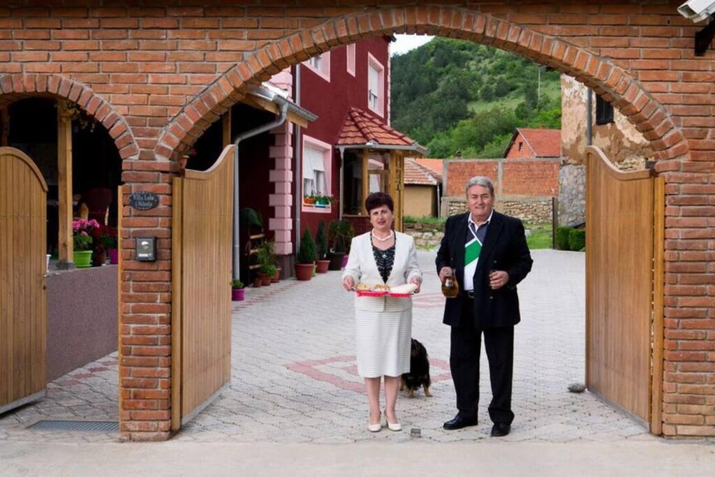 Your Host Slobodan & Zorica