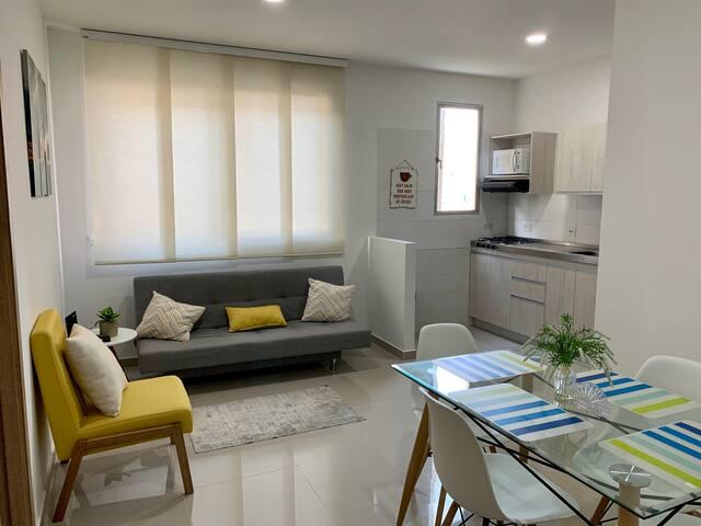 Apartamento amoblado en Barranquilla