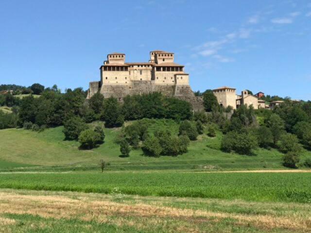 Casa di pietra sull'Appennino Tosco Emiliano