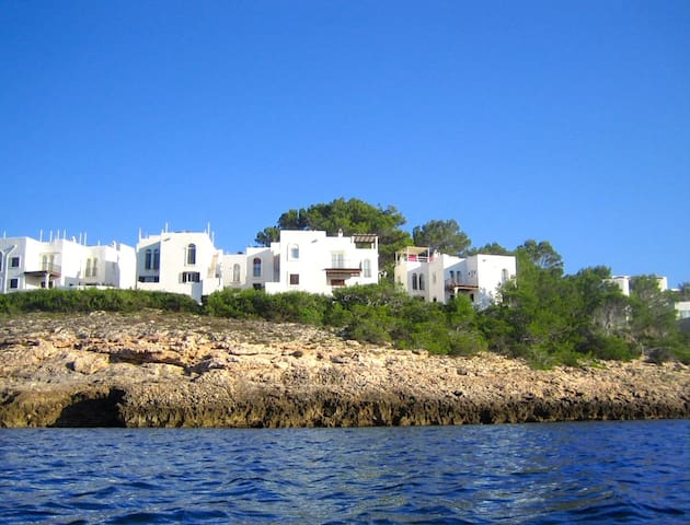 App.35A fantastic terrace & sea! - Cala Portinatx - Flat