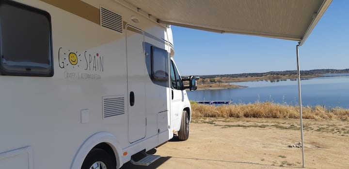 With the camper through Andalusia