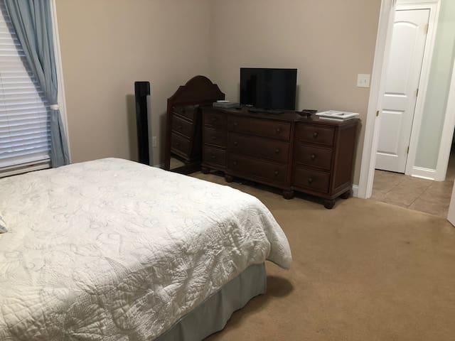 Master Bedroom on right