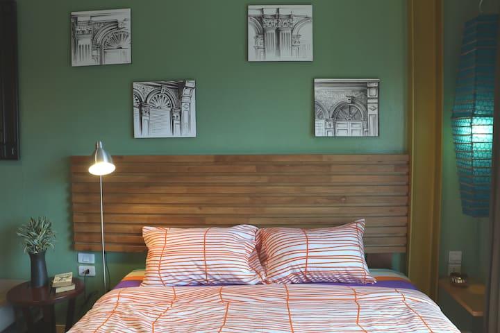 Blissful One Bedroom Apartment, LOFT Design